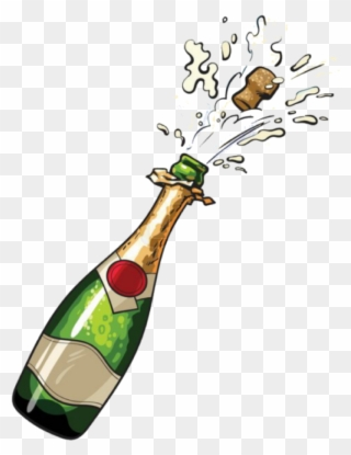 Free PNG Bottle Of Champagne Clip Art Download.