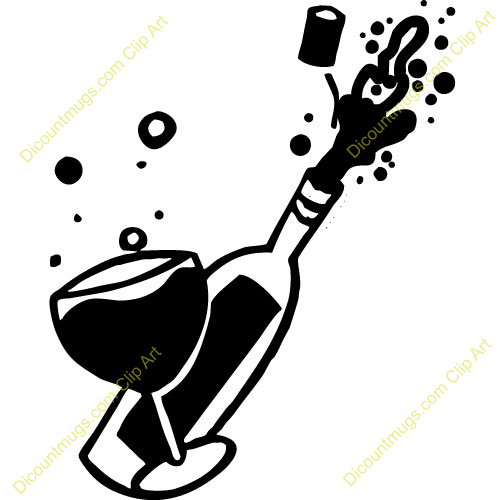 Champagne Bottles Clipart Clipground