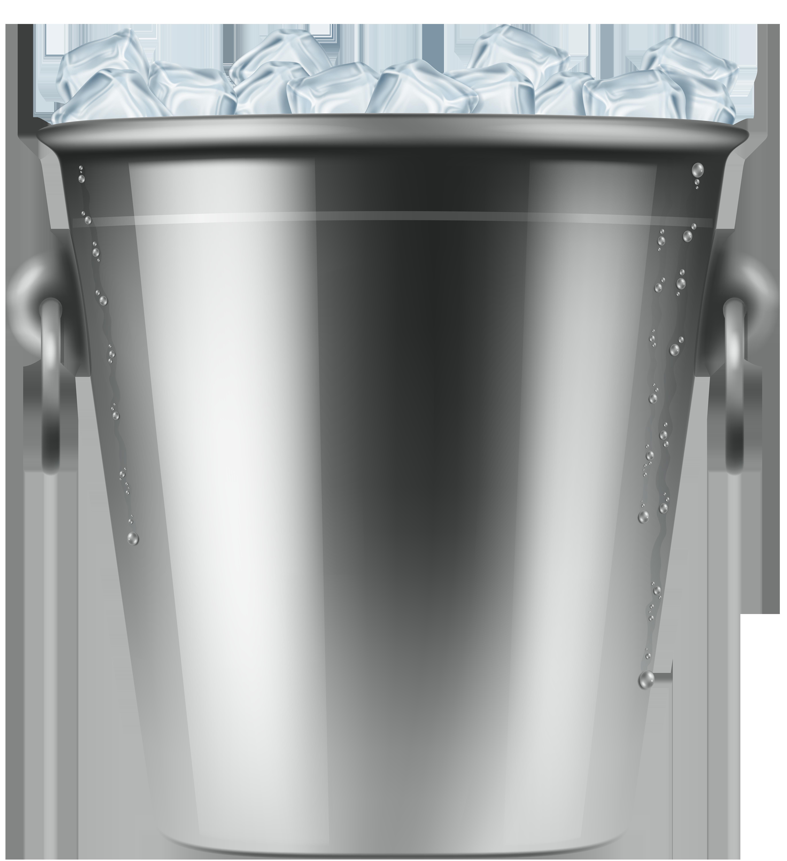 Ice Bucket PNG Clip Art.