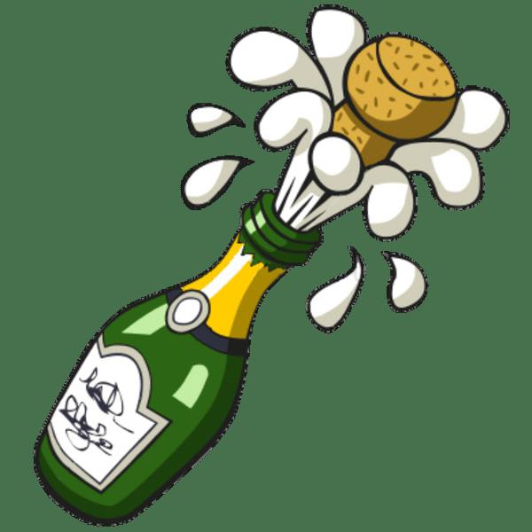 Champagne celebration clipart » Clipart Portal.