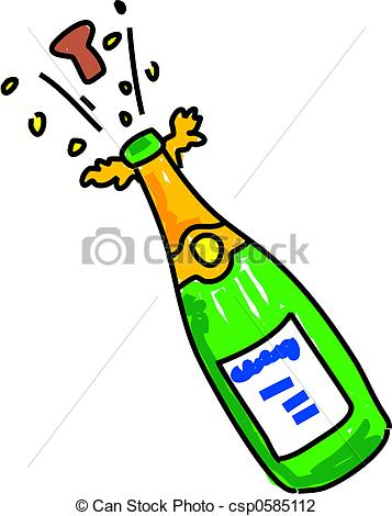 Champagne Stock Illustration Images. 23,829 Champagne.
