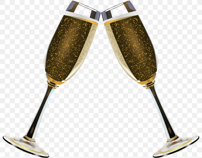 Champagne Glass Sparkling Wine Clip Art, PNG, 800x643px.