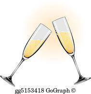Champagne Flute Clip Art.