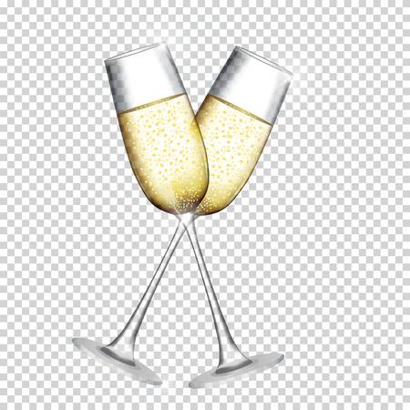 1,276 Champagne Flutes Cliparts, Stock Vector And Royalty Free.