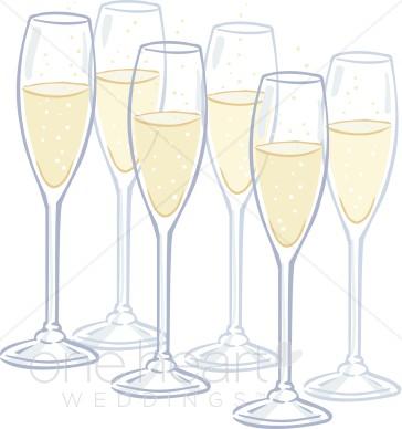 Clipart champagne flutes wedding drinks jpg.