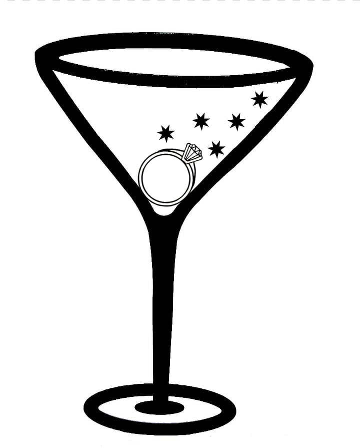 Martini Margarita Cocktail glass , Bachelorette Party PNG clipart.