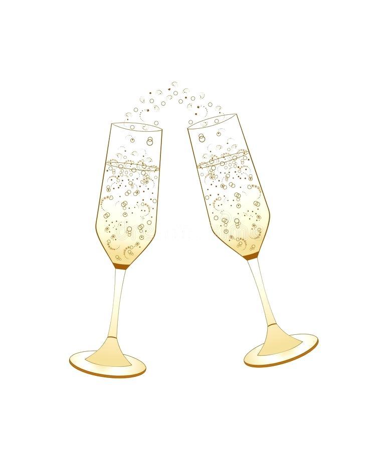 champagne glass clipart.