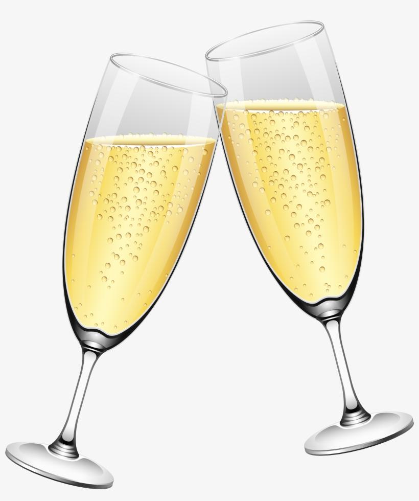 Wedding Champagne Glasses Png Clip Art Transparent PNG.