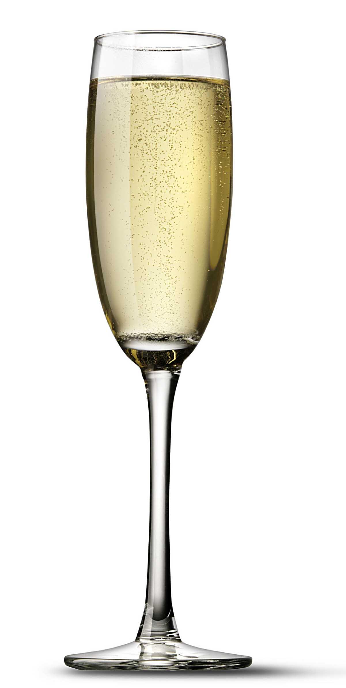 Champagne Glass Bubbles Clipart.