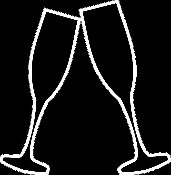 Champagne Glass Icon #160278.