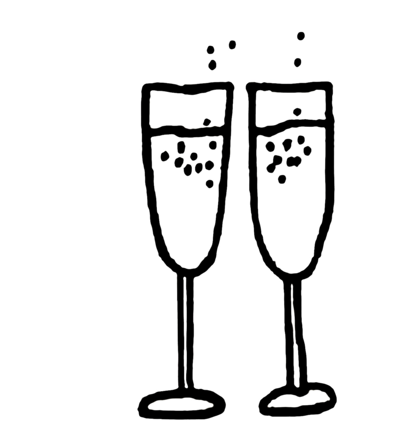 Free clipart pictures of champagne glasses » Clipart Portal.