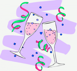 Champagne Glasses Clip Art Download.