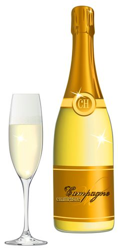 Champagne Glass PNG Picture.
