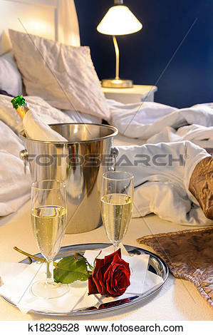 Pictures of Champagne rose bed celebrate special occasion bedroom.