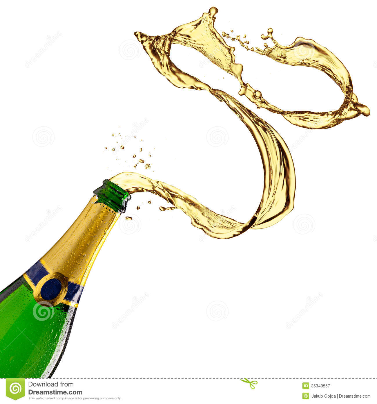Champagne splash stock image. Image of explosion, celebration.
