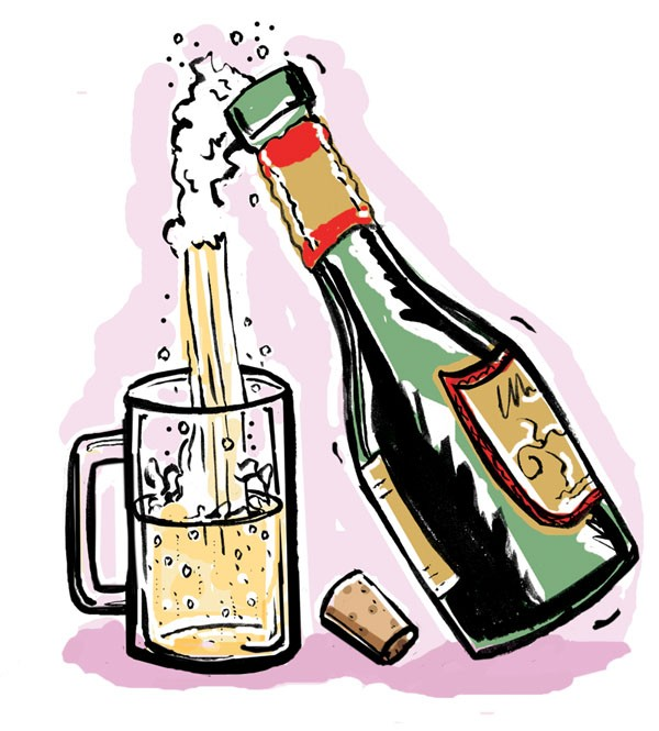 Champagne taste, beer budget.