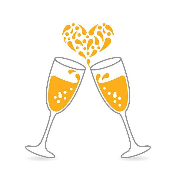 Champagne toast clipart 5 » Clipart Portal.
