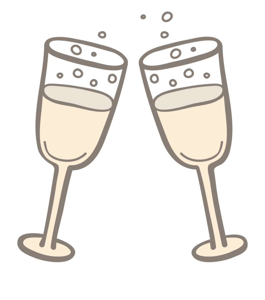 Champagne Toast Png.