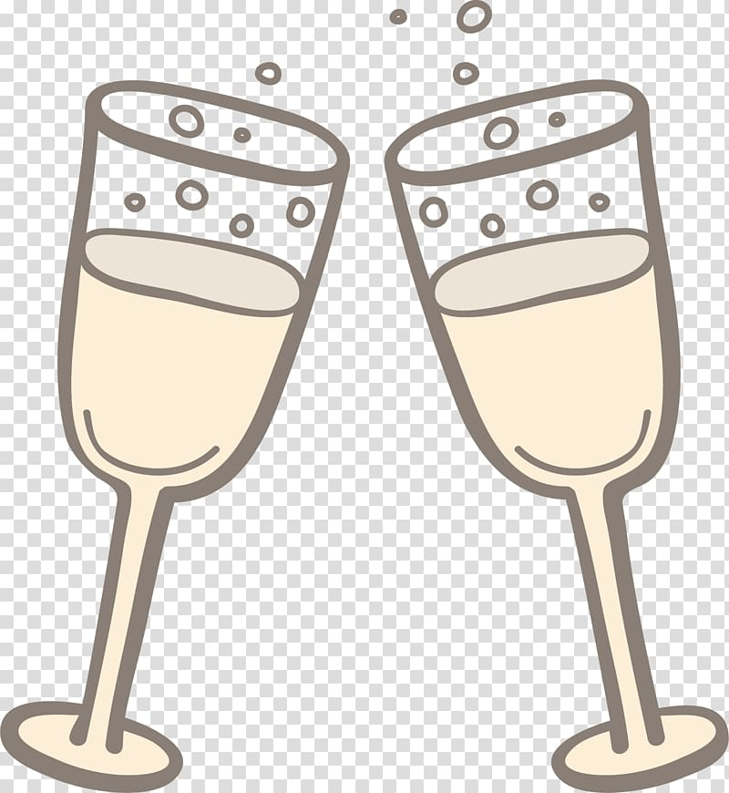 Champagne glass Sparkling wine Rosxe9, Champagne Toast transparent.