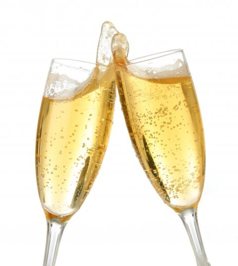 Champagne Toast.