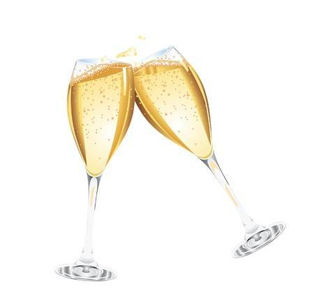 Champagne toast clipart 3 » Clipart Portal.
