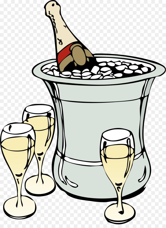 Champagne Bottle clipart.