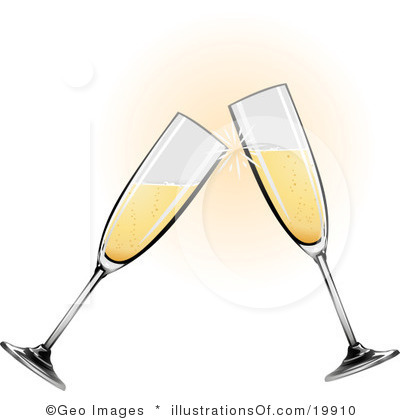 Champagne Clipart Page 1.