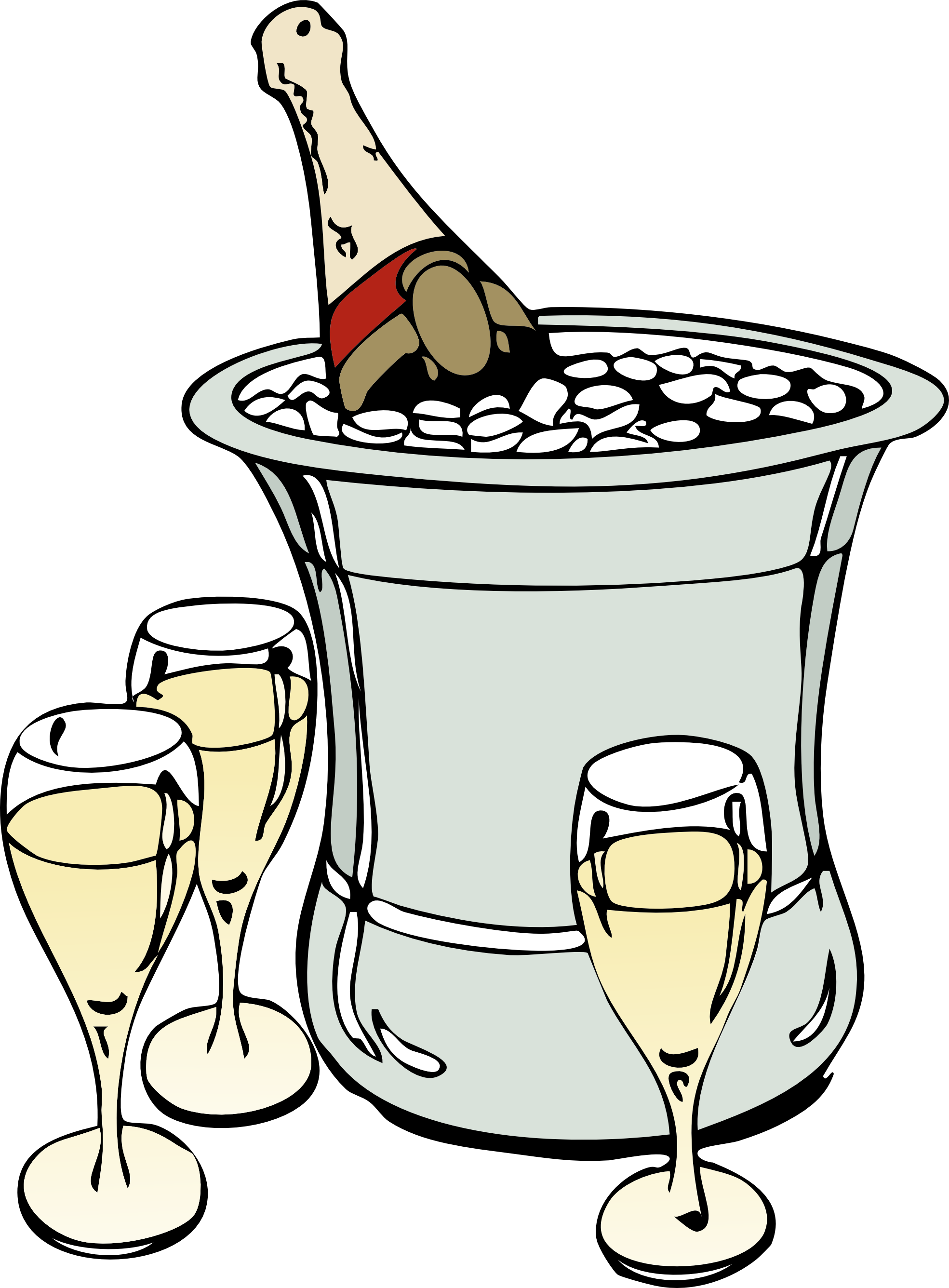 Champagne 20clipart.