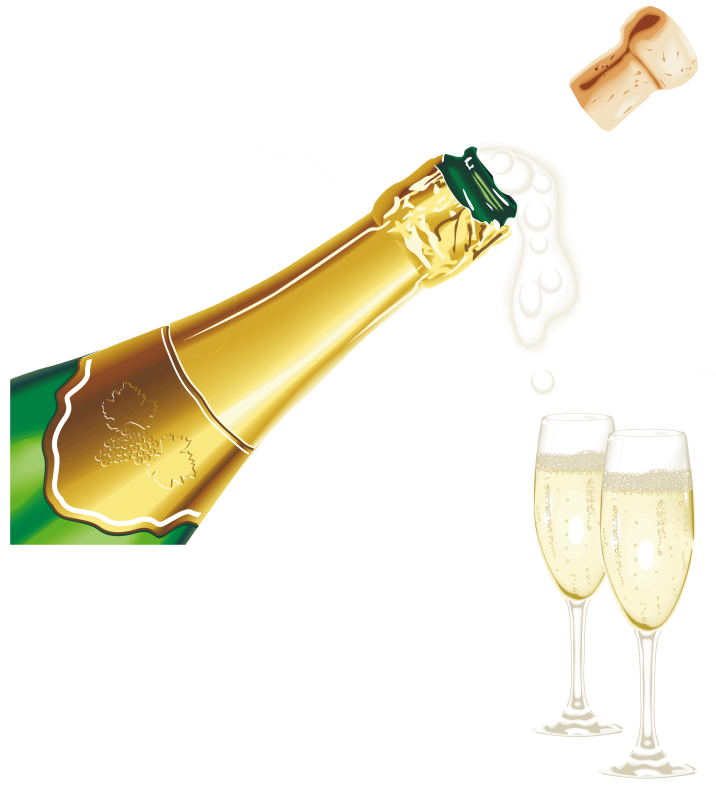 14 cliparts for free. Download Champagne clipart champagne word and.