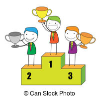 Champion lifting trophy Vector Clipart EPS Images. 46 Champion.