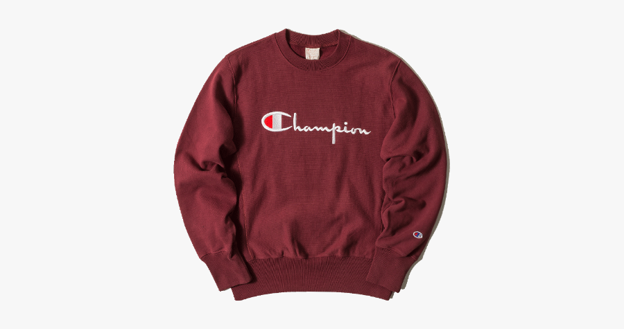 Champion Hoodie Sweater Clothes Red Freetoedit.