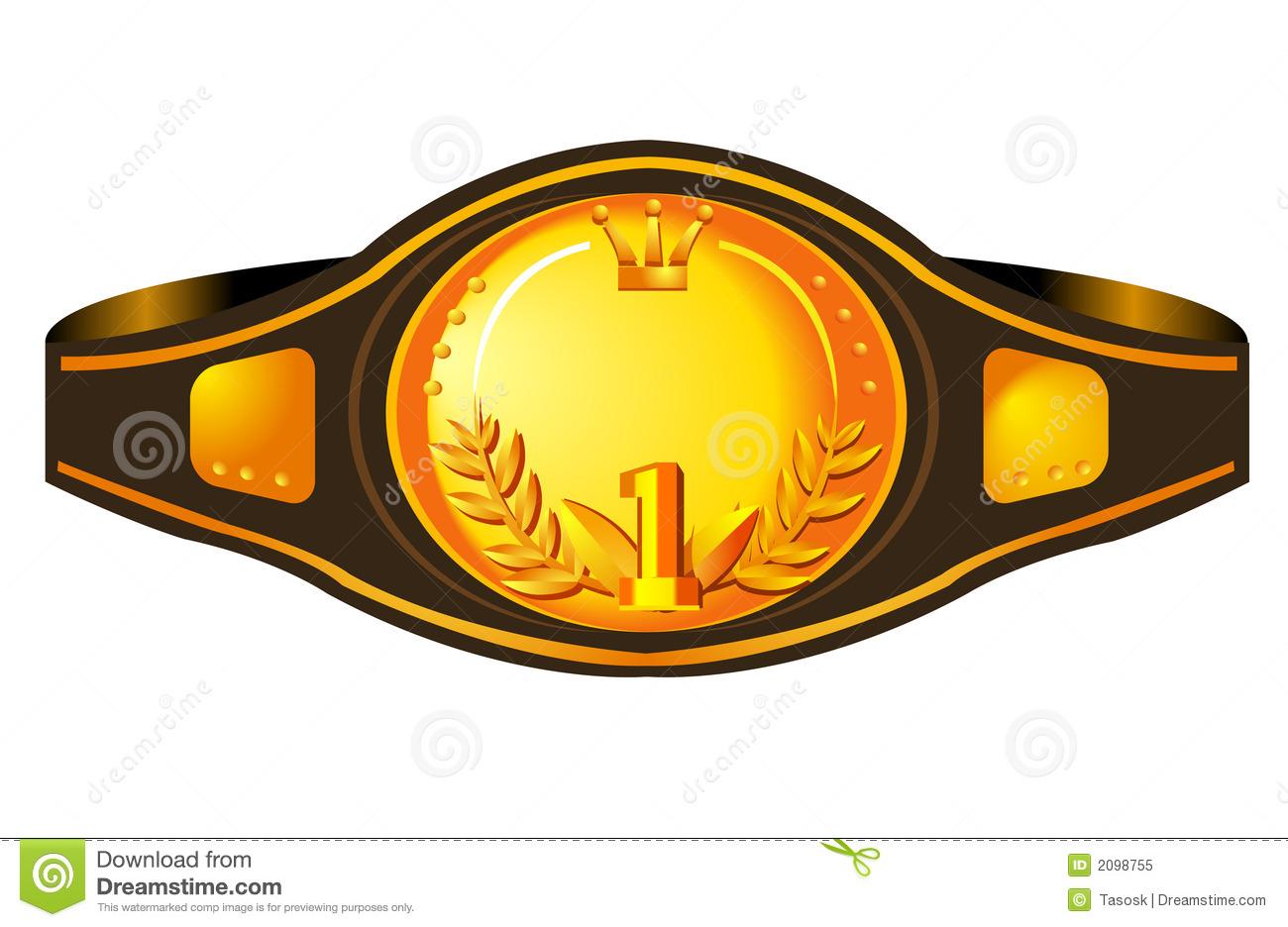 Wwe championship belt clipart.