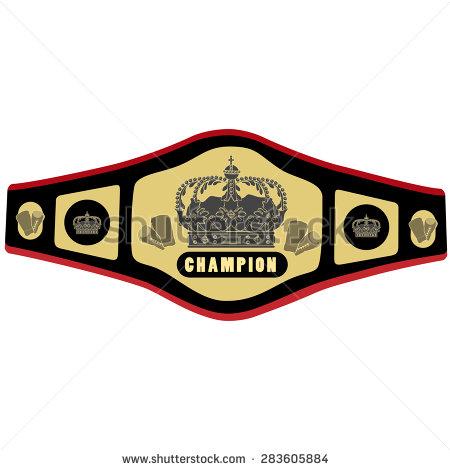 Championship Belt Stock Images, Royalty.