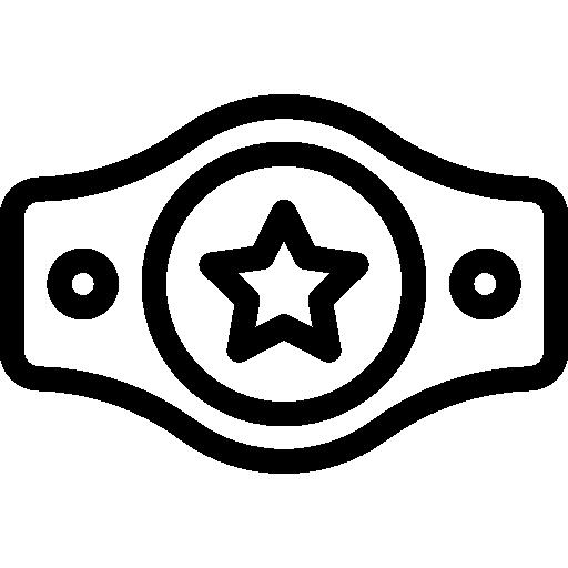Champion belt.