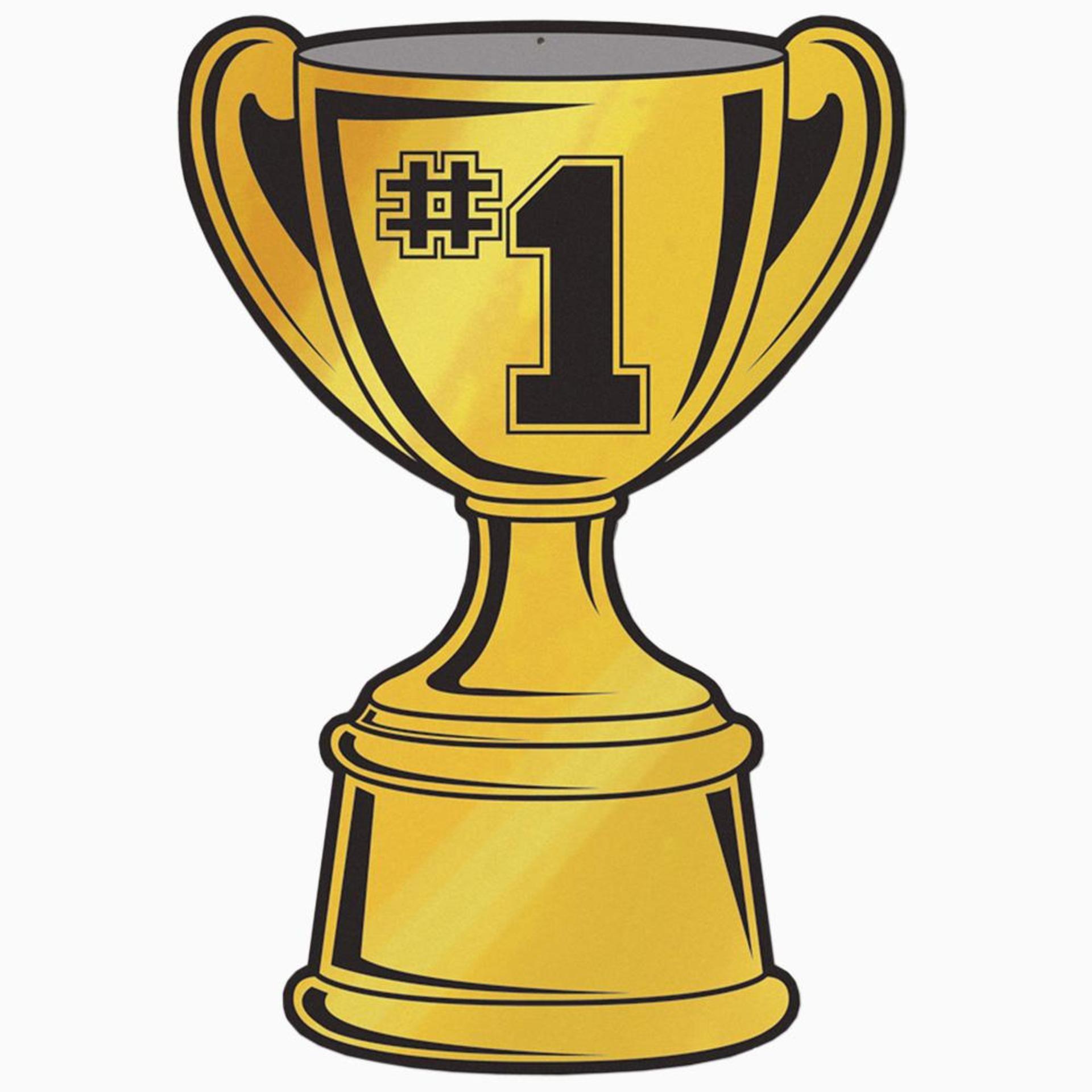 Clip art championship trophy.
