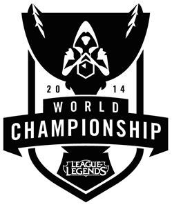 League of Legends World Championship Logo Vector (.EPS) Free.