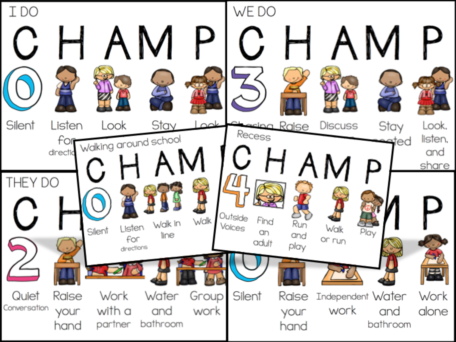 CHAMPS Behavior Management.