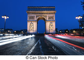 Photo de Triomphe, de, arc.