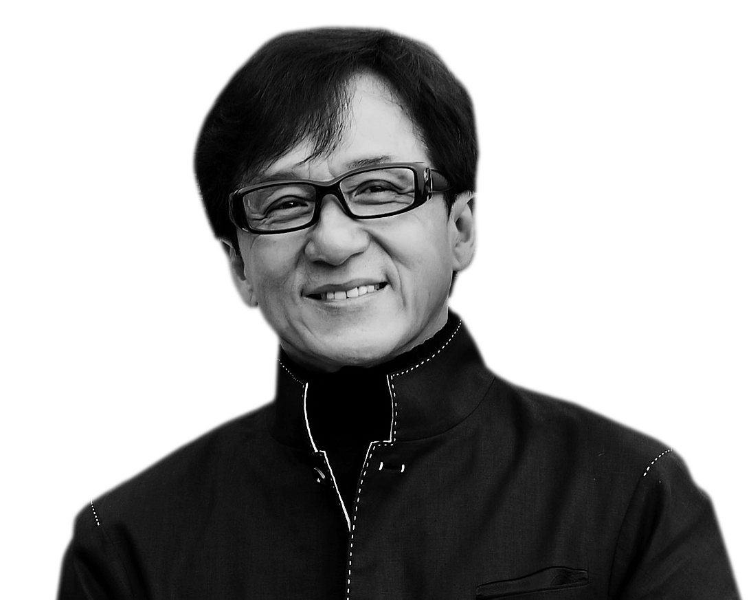 Jackie Chan PNG Transparent Background.