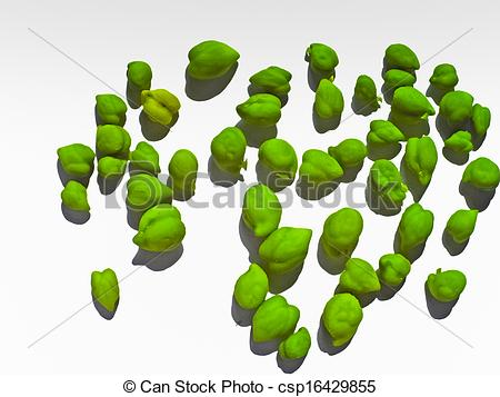 Stock Images of pulses fresh green unpeel chickpeas hara chana.