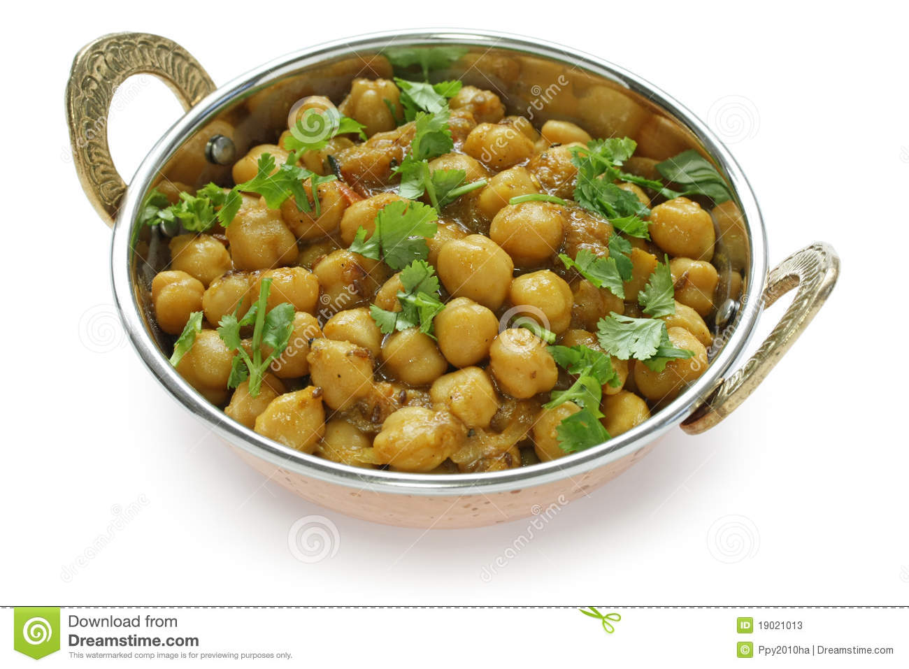 Chana Masala , Chickpea Curry , Indian Dish Stock Photos.