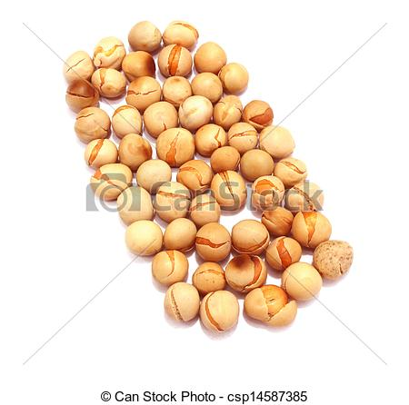 Pictures of chana dal in white background csp14587385.
