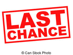 Your Last Chance Clipart.
