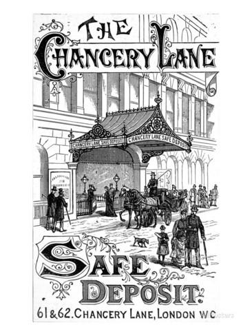 The Chancery Lane Safe Deposit, 1891 Giclee Print.
