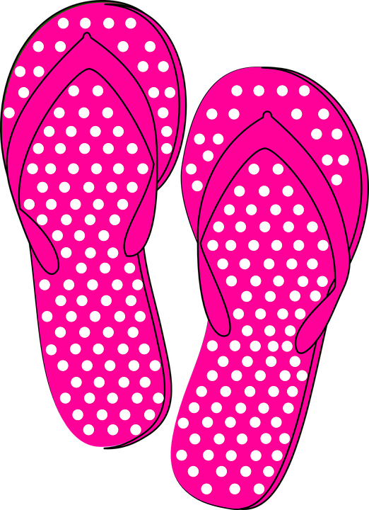 Chanclas vector png 6 » PNG Image.