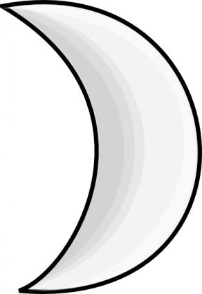 Moon phases clip art.