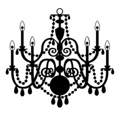 Chandelier clipart free.