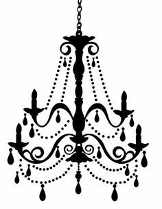 Chandelier Silhouette Clip Art Free Free Cliparts That You.