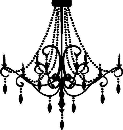 Chandelier silhouette clip art chandeliers design.