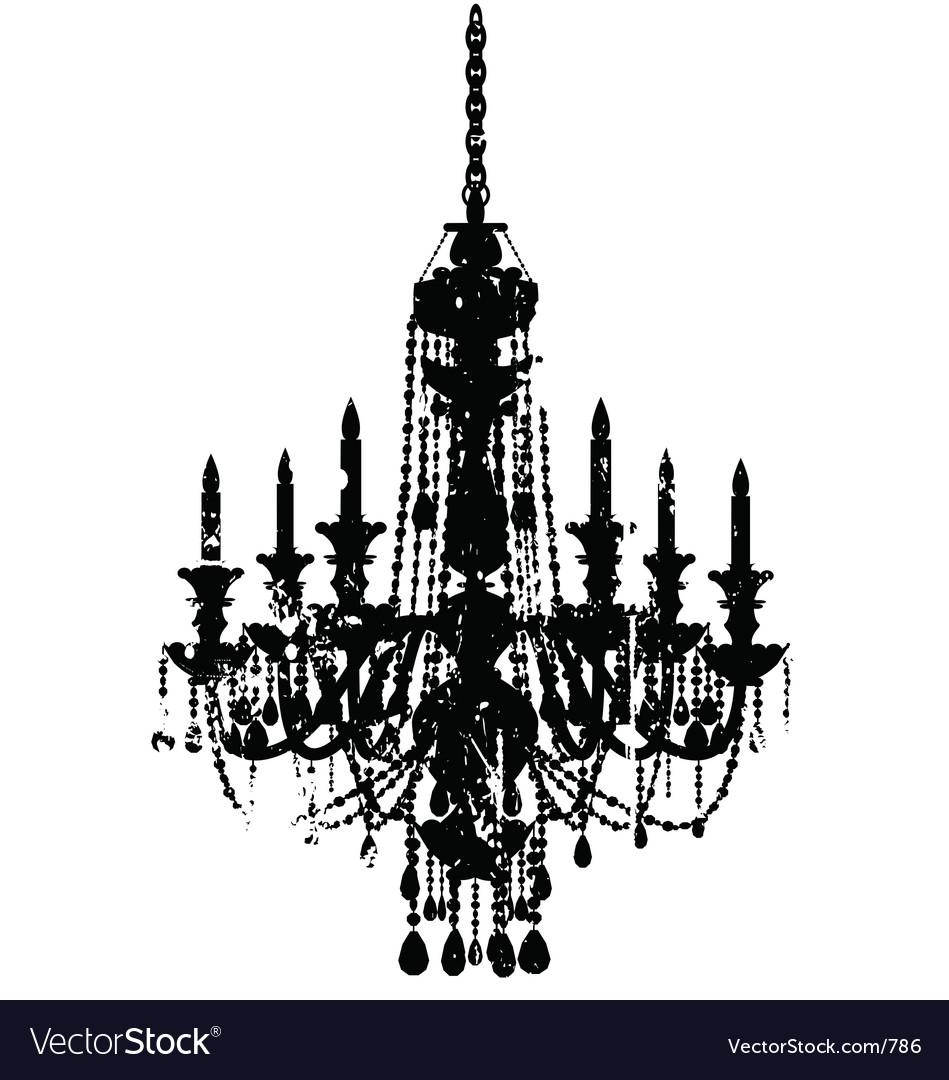 Vintage chandelier.